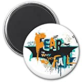 Warner Bros. 'Fear is Why You Fail' Fridge Magnet