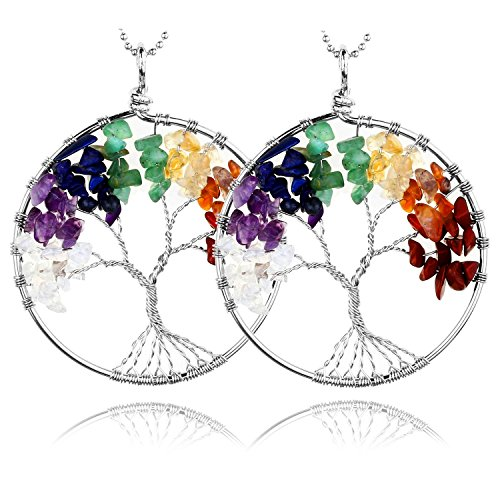 jsdde-2-pcs-tree-of-life-wire-wrapped-crystal-chip-gemstone-7-chakra-stones-healing-balance-reiki-pe