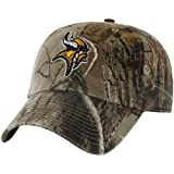 NFL '47 Brand Minnesota Vikings Clean Up Adjustable Hat - Realtree Camo at Amazon.com