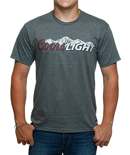 coors-light-mountains-t-shirt-large