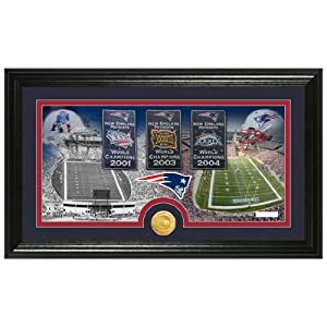 New England Patriots Tradition Minted Coin Pano Photo Mint from The Highland Mint by Highland Mint