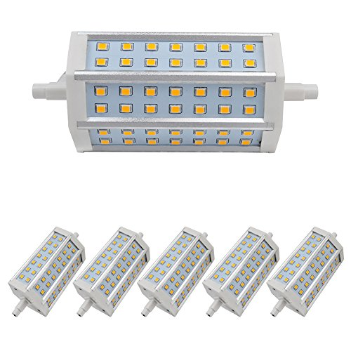 6X Light Warm White R7S Led Bulb 9W Dimmable Smd 2835 Low Consumption Ac 85-265 V