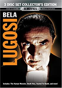 Best Of Bela Lugosi 3 Disc Collector's Edition
