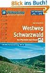 Hikeline Westweg Schwarzwald 1:35 000...