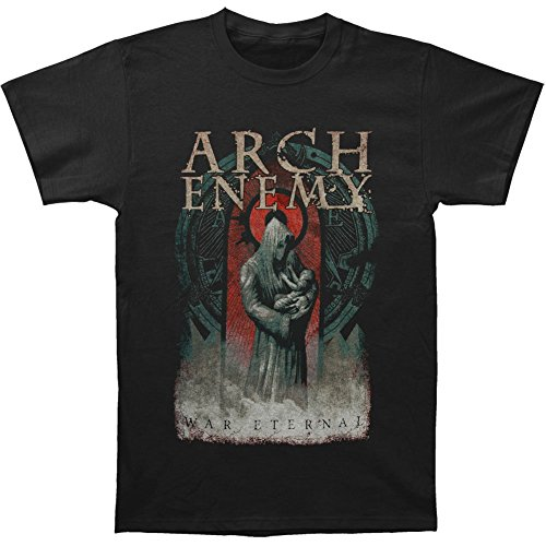 Arnoldo Blacksjd Arch Enemy Men's War Eternal 2014 Dates T-shirt Black X-Large
