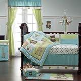 Toyland 4 Piece Baby Crib Bedding Set by Kidsline