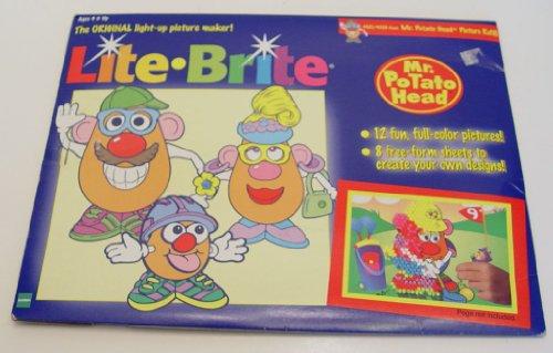 1998 Lite Brite Mr. Potato Head Picture Refill (Rectangular)