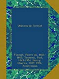 img - for Oeuvres de Fermat: t.2 (French Edition) book / textbook / text book