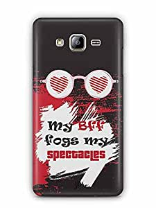 YuBingo My BFF Fogs my Spectacles Designer Mobile Case Back Cover for Samsung Galaxy On5