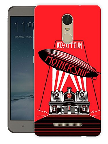 Led Zeppelin - Mothership Rock Printed Designer Mobile Back Cover For Xiaomi Redmi Note 3 By Ulta Anda (3D, Matte Finish, Premium Quality, Protective Snap On Slim Hard Phone Case, Multi Color)