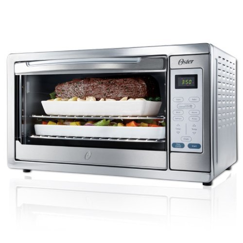 Stainless Steel Extra Large Convection Toaster Oven for Baking, Broiling, Toasting, and Defrosting Food (Toasting Oven compare prices)