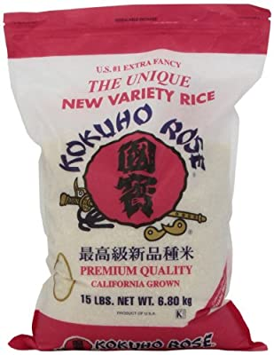Kokuho Rose Rice