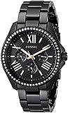 Fossil Damen-Armbanduhr Cecile Analog Quarz Edelstahl AM4522