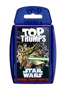 Star Wars Rise of the Bounty Hunter Top Trumps War Card Game