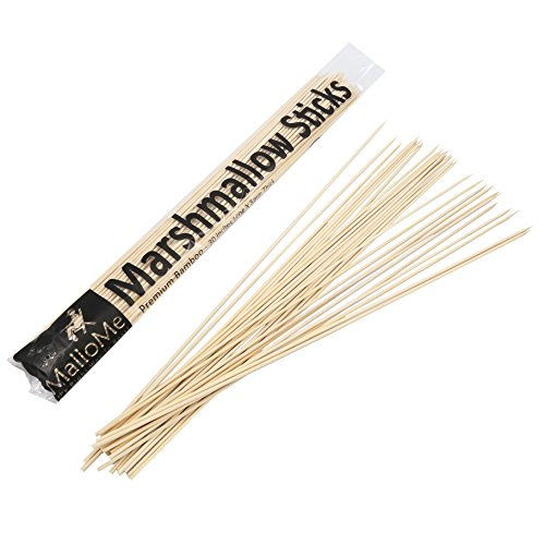 Mallome Bamboo Marshmallow Roasting Sticks 5mm Thick Extra