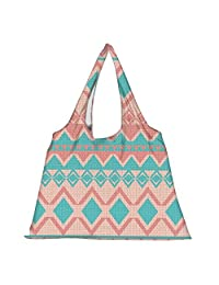 Snoogg High Strength Reusable Shopping Bag Fashion Style Grocery Tote Bag Jhola Bag - B01B9793Q4