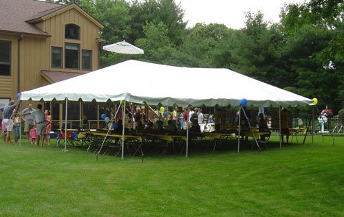 20' X 40' Celina Frame Tent / Canopy Tent