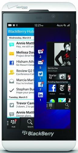 BlackBerry Z10, White (Verizon Wireless)