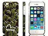 iPhone5/5S ケース 【EVISU】(エビス) ロゴ&グリーンカモフラージュデザイン g