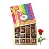 Perfect Gift To To Your Love With Rose - Chocholik Belgium Chocolates