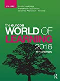 img - for The Europa World of Learning 2016 book / textbook / text book