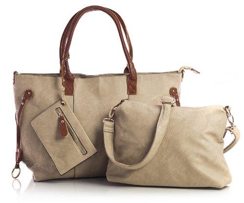 Big Handbag Shop Womens Shoulder Bag  Medium