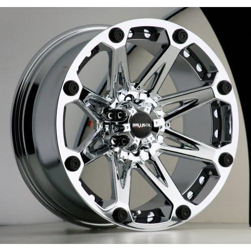 20x9 Ballistic Jester (Chrome) Wheels/Rims 6x139.7 (814290655+00