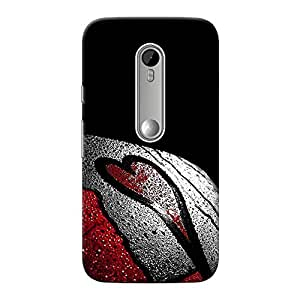 Inkif Printed Designer Case For Motorola G3 (3Rd Generation) Multi-Coloured