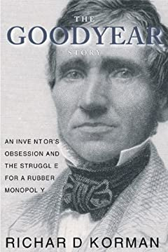 Charles Goodyear Photograph on book cover