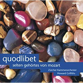Mozart: Galimathias Musicum K32 (Quodlibet): 4. Pastorella