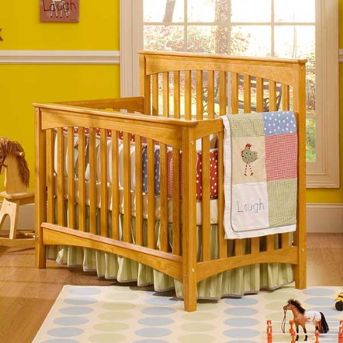 Baby 39 S Dream Stationary Crib Infinity Chestnut Baby