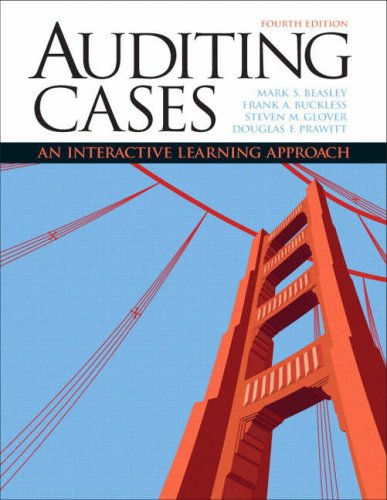 Auditing Cases: An Interactive Learning Approach (4th...
