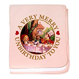 CafePress A VERY MERRY UNBIRTHDAY baby blanket - Standard [Baby Product] ...