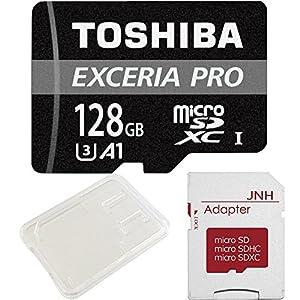 東芝 Toshiba プロフェッショナル最大読出/書込速度95MB/s microSDXC 128GB 超高速U3 [バルク品]
