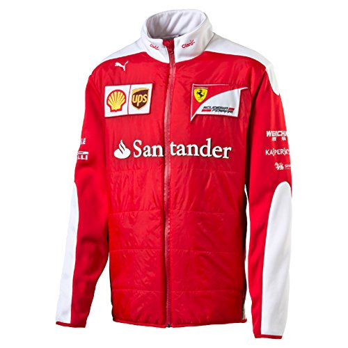 Ferrari F1giacca Softshell giacca Softshell da uomo New team 2016, Uomo, Ferrari New Team Softshell Jacket 2016, rosso, L