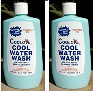 Coolove- COOL WATER WASH LAUNDRY Detergent-Phosphate Free (2 PACK)