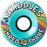 Sector 9 Skiddles Blue Longboard Wheels - 70mm 78a (Set of 4)