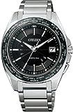 [シチズン]CITIZEN 腕時計 ATTESA アテッサ Eco-Drive 電波時計 ワールドタイム 日中米欧世界多局受信対応 Perfex搭載  ATD53-3091 メンズ