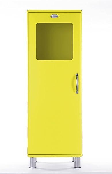Vetrina/armadio Malibu 5111 in giallo di Tenzo