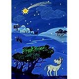 """Wie Aaron nach Bethlehem kam: Eine viel zu grosse Geschichte f�r einen kleinen Esel (Fensterbild-Adventkalender mit Begleitbuch)von """"Barbara Cratzius"""""""