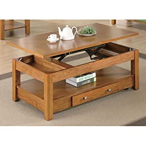 Woodside Collection Lift Top Coffee Table Kitchen Dining