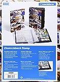 Image de Briefmarken Einsteckbuch STAMP DIN A4, 16 schwarze Seiten