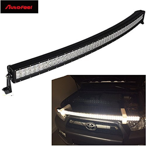 Autofeel 52 inch 300w curved philips led light bar flood spot combo autofeel 52 inch 300w curved philips led light bar flood spot combo beam reflector atv suv aloadofball Gallery