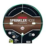 Gilmour 270142 50-Foot 3-Tube Flat Sprinkler and Soaker Hose, Green ~ Gilmour