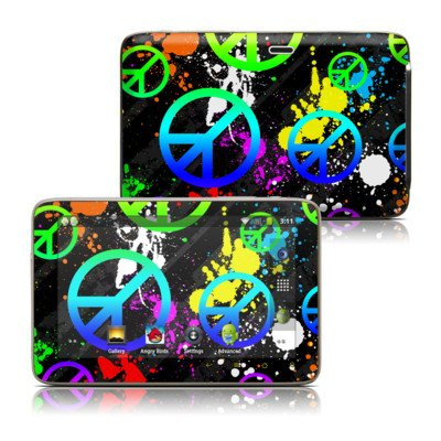 Unity Design Protective Decal Skin Sticker For Latte Ice Smart 5 Inch Hd Smart Media Tablet front-965661