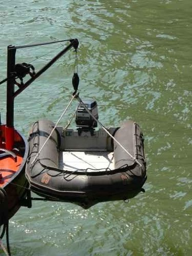 Small Boat Winch on - 52