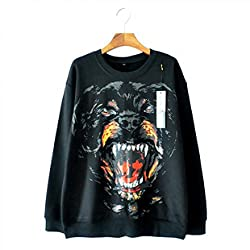The Dog Men And Women The Right Zhilong Long Sleeved Sweater