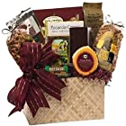 The Finer Things Gourmet Food and Snacks Gift Basket (Candy Option)