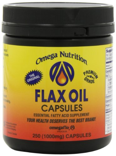 Omega nutrition flax oil