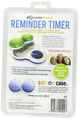 Contact Lens Care Kit -Reminder Timer
